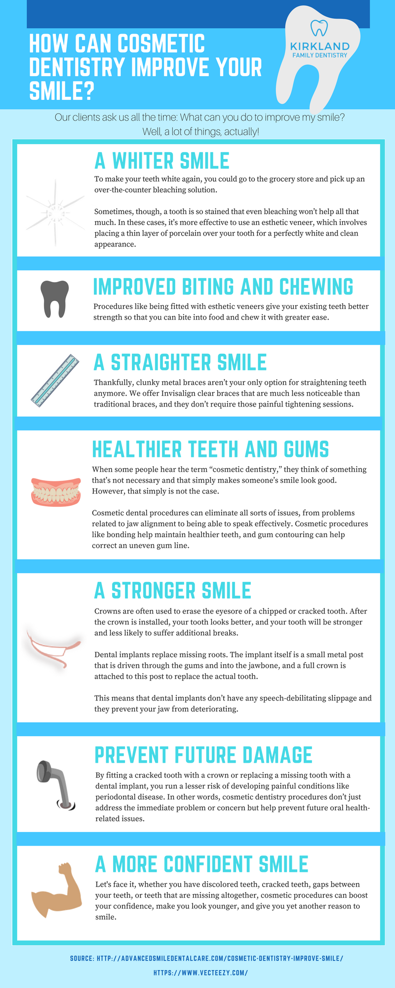 Infographics - How Can Cosmetic Dentistry Improve Your Smile?