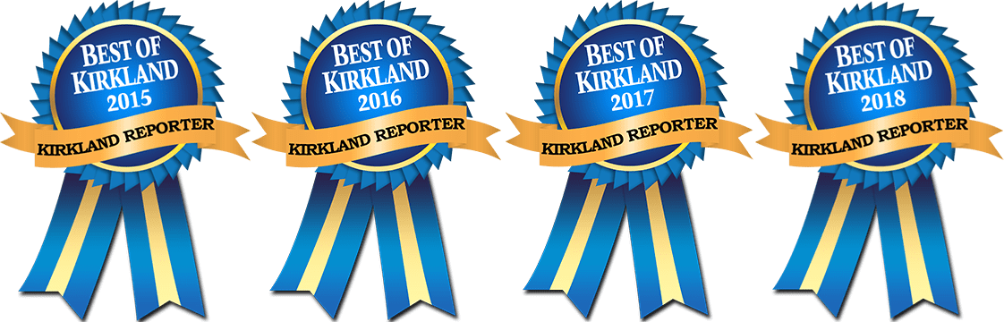 Kirkland Family Dentistry best denstist award