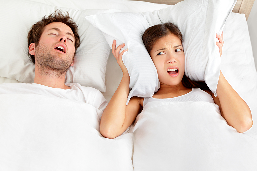 difficulty sleeping with sleep apnea