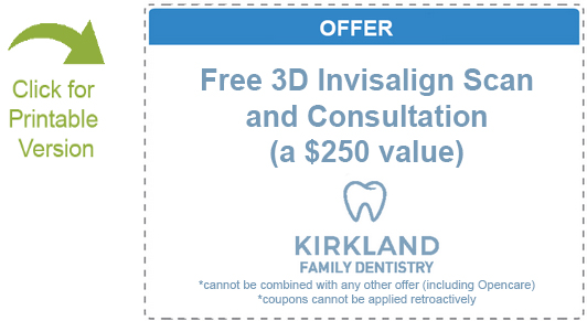coupon offer 3D invisalign